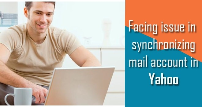 Facing issue in synchronizing mail account in Yahoo