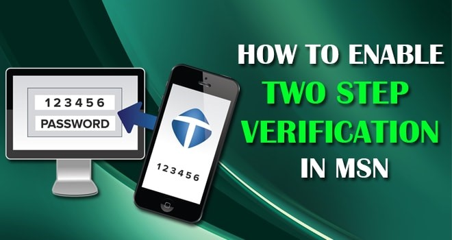 How to Enable Two-Step Verification in MSN Account
