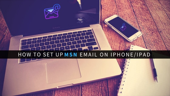 configure msn email account