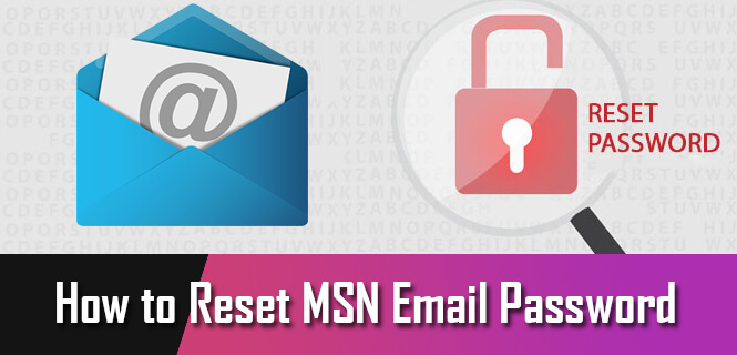 How to Reset MSN Email Password