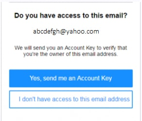 confirm email id