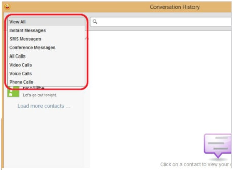 How to View Yahoo Messenger Conversation History